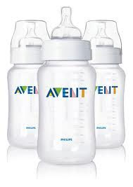 Avent Lot De 3 Biberons 330ml Propylene