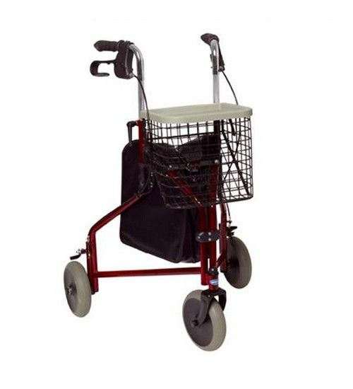 Rollator Pliant 3 Roues (Or)
